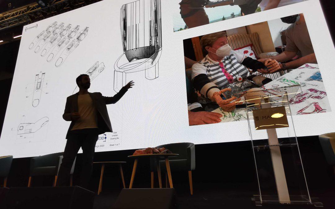 Ayúdame3D presenta su innovación tecnológica en La Nave de Madrid
