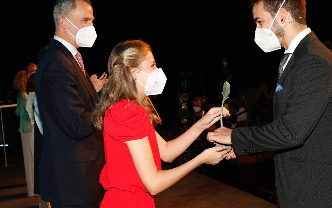 Guillermo M. Gauna-Vivas, director de Ayúdame3D, recibe el premio Social de la Fundación Princesa de Girona